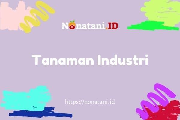 tanaman industri